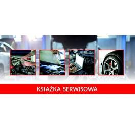 Książeczka serwisowa pojazdu - DL /03