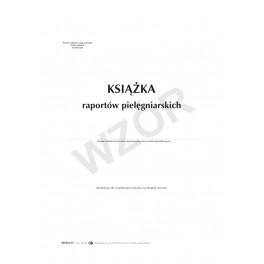Książka raportów pielęgniarskich (twarda oprawa)
