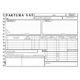 Faktura VAT A5 uniwersalna - samokopiująca