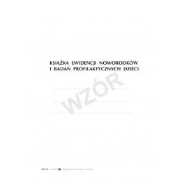 Książka ewid. noworodków i badań profil. dzieci