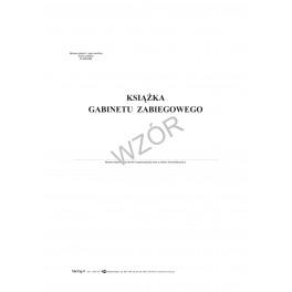 Książka gabinetu zabiegowego - miękka oprawa