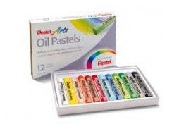 Pastele olejne PENTEL 12 kolorów