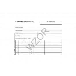 Karta rejestracyjna poradni (K)
