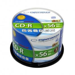Płyta CD-R Esperanza - 50 sztuk