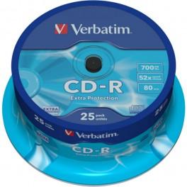 Płyta CD-R Verbatim - 25 sztuk