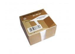 Kostka biurowa papierowa w pudełku - eko