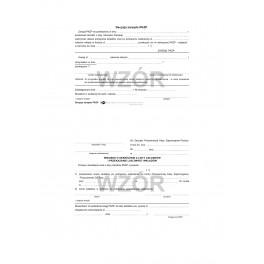 Decyzja zarządu PKZP (wniosek o skreślenie)