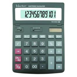 Kalkulator VECTOR DK-206 BLK