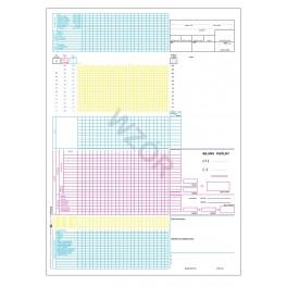 Karta intensywnej opieki medycznej (OIOM) - kolor.