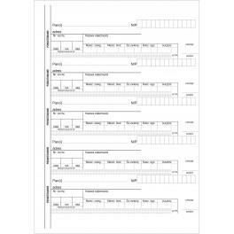 Kwitariusz przychodowy (60 kartek) - samokopiujący