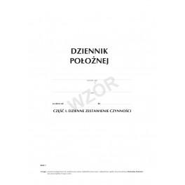 Dziennik położnej cz. I (miękka oprawa)