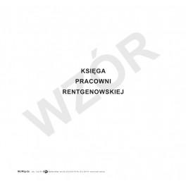 Księga pracowni rentgenowskiej (miękka oprawa)
