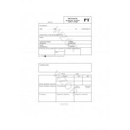 Protokół przekazania - przejęcia śr. trwałego PT
